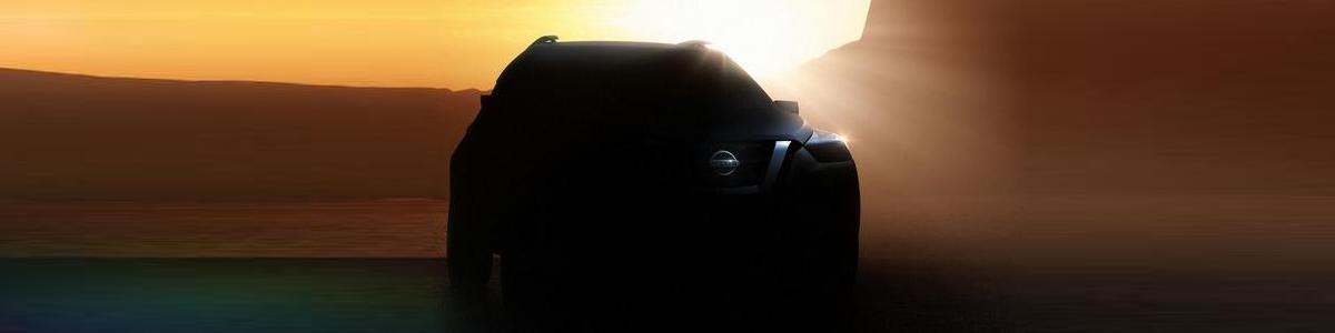 Teaser concept crossover Nissan