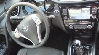 Nissan X-TRAIL tableau de bord