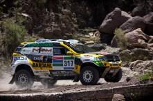 Le Renault Duster sur le Dakar 2016