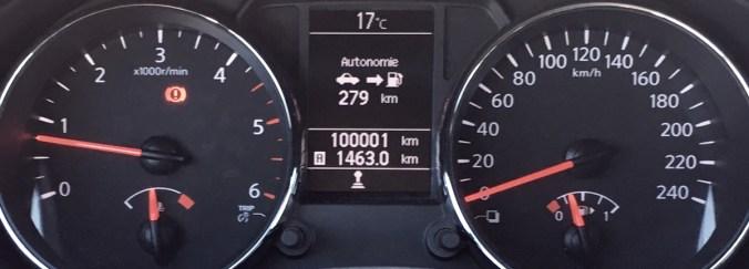 Le cap des 100 000 kilomètres