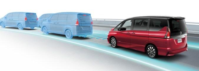 Nissan Serena avec conduite autonome commercialisée au Japon