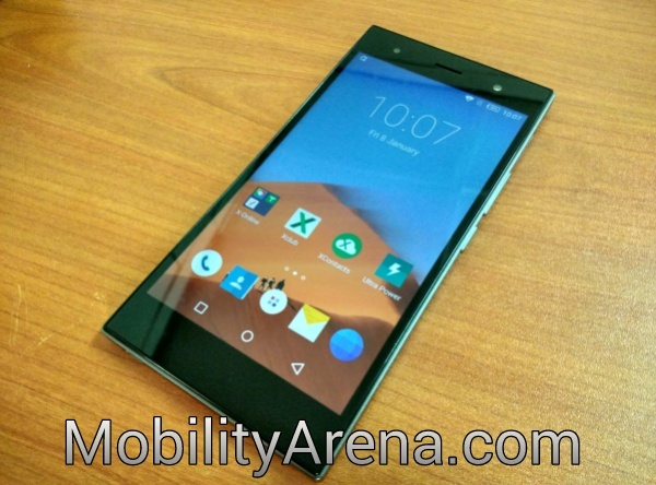 infinix zero 3 review - homescreen