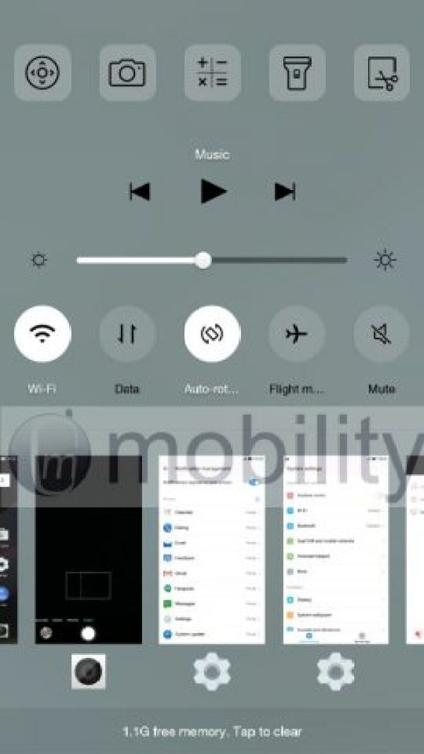 LeTV Le 1s user interface