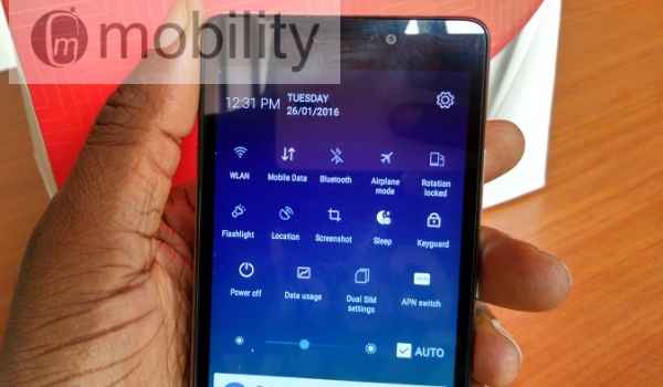 lenovo vibe p1m dropdown
