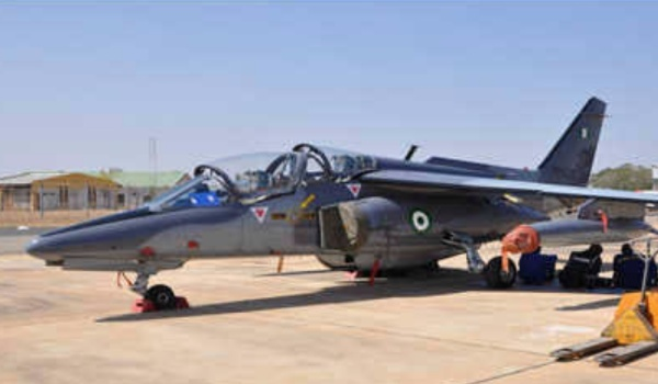 nigerian airforce alpha jet