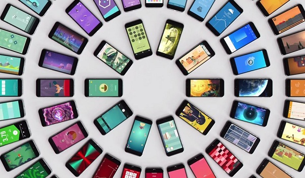 phones concentric circles