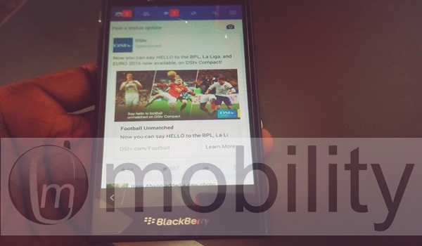 BlackBerry 10-Facebook-lite