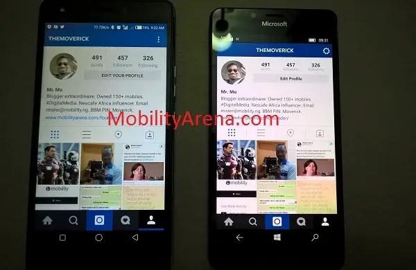 Instagram for Windows 10 2
