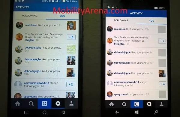 Instagram for Windows 10 4