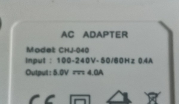 4 Port USB Power Adapter rating