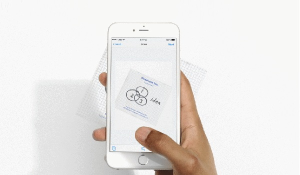 Dropbox document scanning