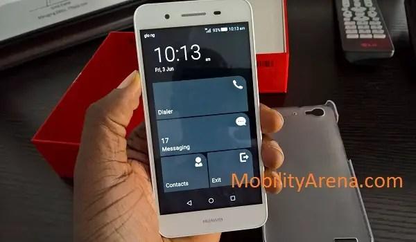 Huawei GR3 ultra power saving