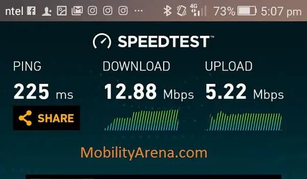 Ntel 4G Speedtest 2