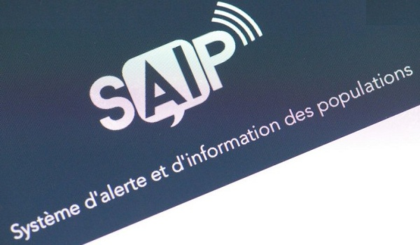 SAIP terror alert app