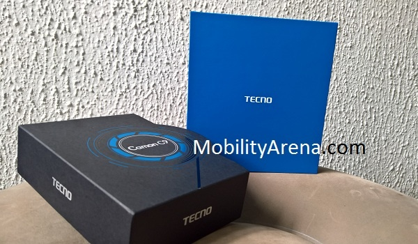 TECNO Camon C9 Photos box out