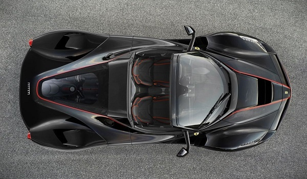 LaFerrari open-top top