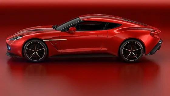 Aston MArtin - Vanquish Zagato Volante side