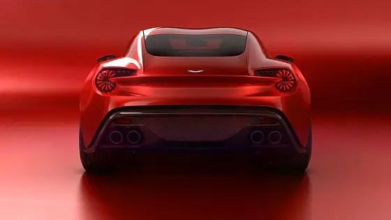 Aston Martin - Vanquish Zagato Volante rear