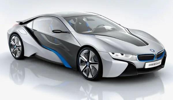 BMW i8 electric supercar