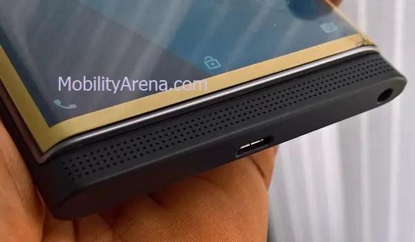 BlackBerry Priv loudspeaker