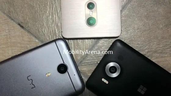Lumia 950 vs TECNO Phantom 6 vs UMi Plus cameras