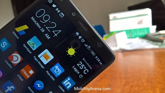Infinix Zero 4 Plus Review phones top display