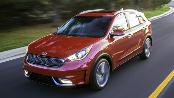 2017 Kia Niro - most fuel efficient car