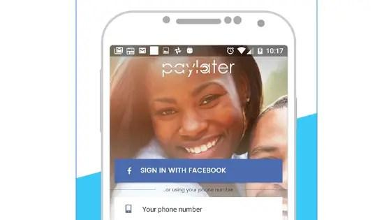 Paylater online lending app