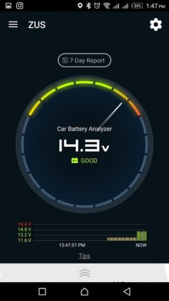 ZUS Smart Car Finder / ZUS Smart Driving Assistant