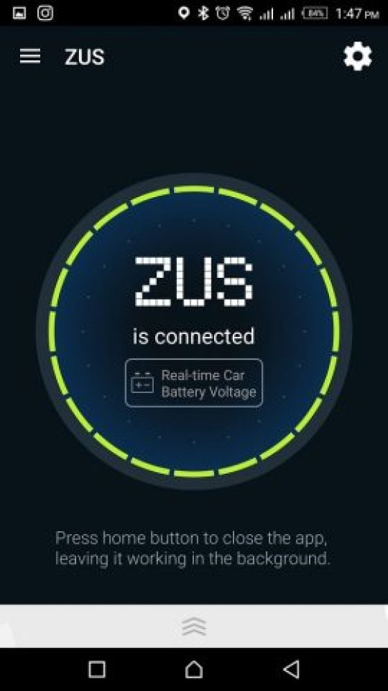 ZUS Smart Car Finder is also a versatile fast car charger for Android 6