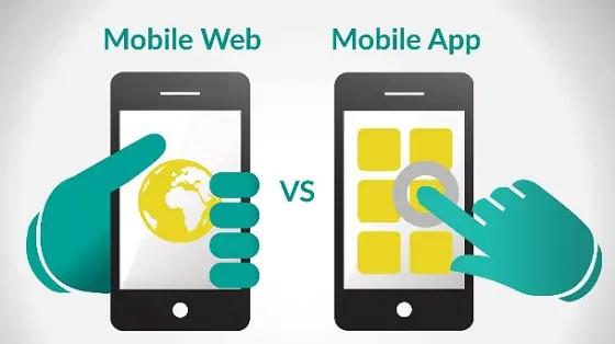mobile websites versus mobile app