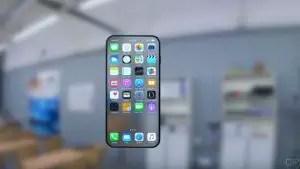 futuristic Iphone 8