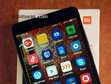 Xiaomi Redmi Note 4 apps