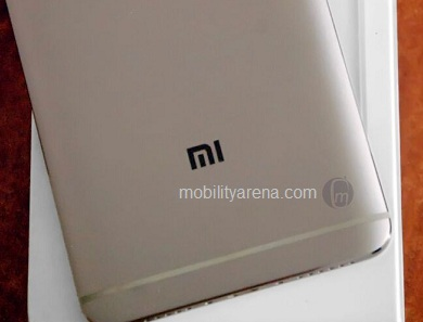 Xiaomi Redmi Note 4 rear logo