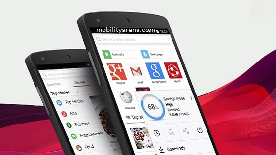 mobile browser