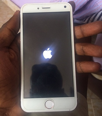 fake iPhone 6booting