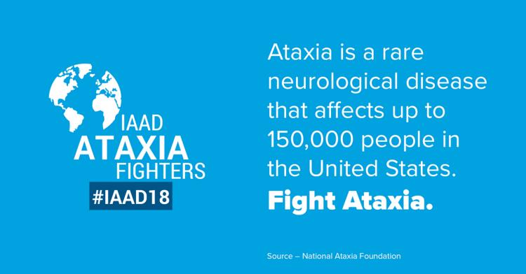 National Ataxia Awareness Day 2018