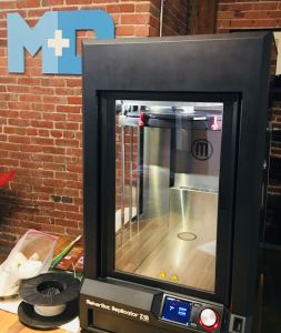 3D printing helped the Mobility+Designed team speed up the development process of the M+D crutch