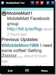 Mobile Matt Twitter