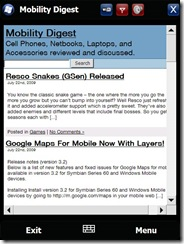 Mobility Digest