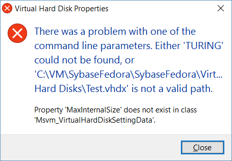 error-hyper-v