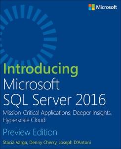 Intro SQL 2016