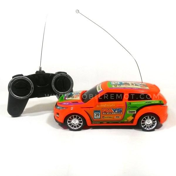 Mobil RC Model Range Rover Evoque skala 120 belakang