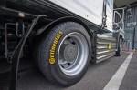 Continental Оборудва електрически камион с трето поколение гуми и ContiPressureCheck ™