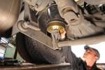Поддръжка на въздушните възглавници и амортисьорите на камиона