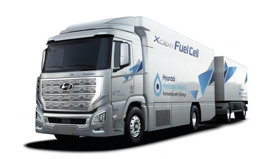 камион на водород
