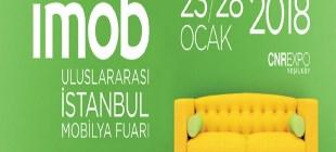 İstanbul Mobilya Fuarı – İmob 2018 – 23/ 28 Ocak!