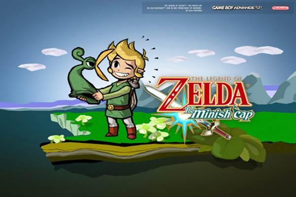 los mejores juegos avanzados de gameboy the-legend-of-zelda-the-minish-cap