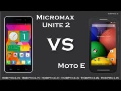 Micromax Unite 2 vs Moto E