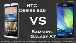 Samsung Galaxy A7 VS HTC Desire 826